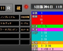 朝日杯FS2017 レース結果
