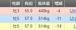 東京大丈夫2018 レース結果01