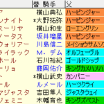 札幌記念2020 枠順確定ラップギア適性値
