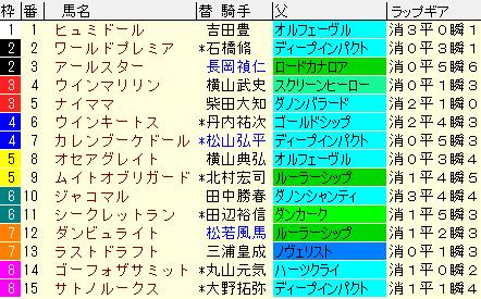 日経賞2021 枠順確定 ラップギア適正値